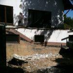 Außenbereich / Terrasse vorher